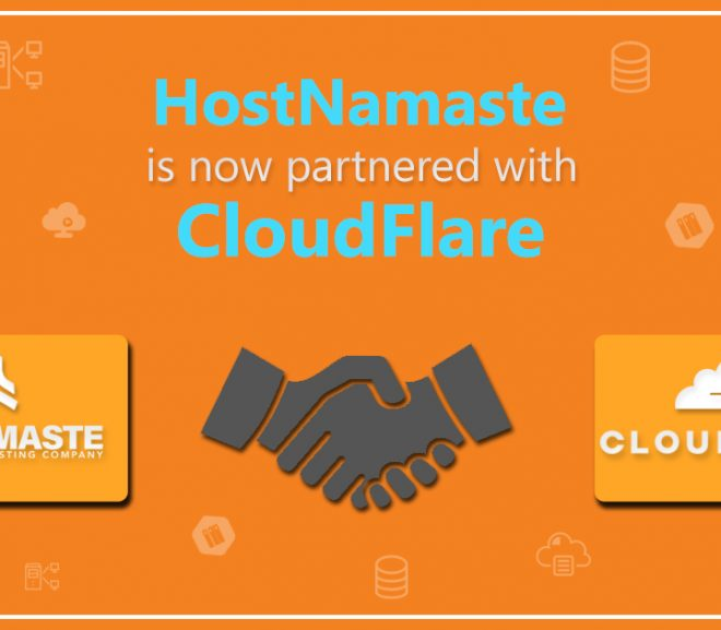 HostNamaste is now Partnered with CloudFlare