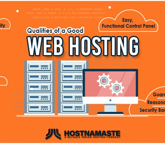 Qualities of a Good Web Host