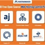 Top 10 Free Open Source Web Hosting Control Panels - HostNamatse