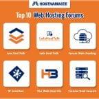 Top 10 Web Hosting Forums - HostNamaste