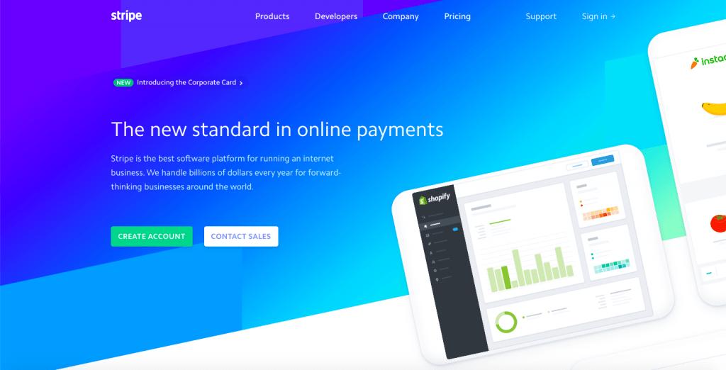 Stripe - Top 10 Payment Gateways for Hosting Providers - HostNamaste