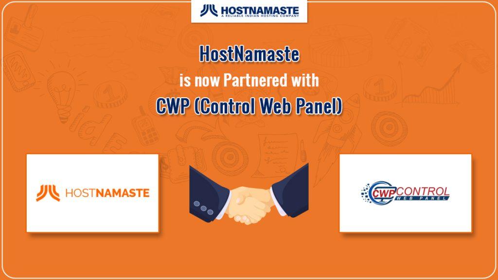 HostNamaste is now Partnered with CWP (CentOS Web Panel) - HostNamaste