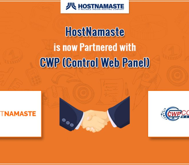 HostNamaste is now Partnered with CWP (CentOS Web Panel)