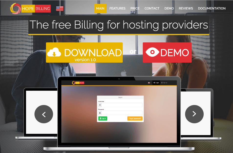 HopeBilling - Top 10 Web Hosting Billing Softwares and Automation Platforms for Web Hosting Providers - HostNamaste