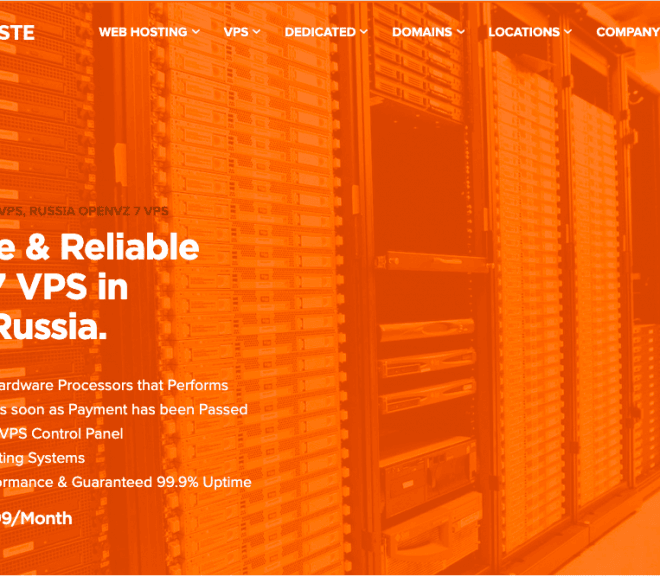 Launching Moscow, Russia Location OpenVZ 7 VPS – HostNamaste