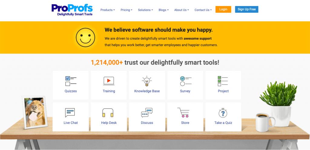 ProProfs Help Desk - Top 10 Free Open Source HelpDesks and Ticketing Softwares – HostNamaste
