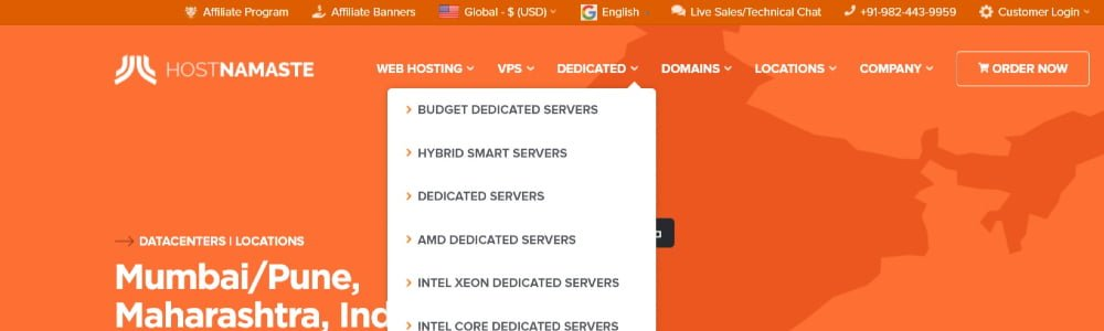 Cheap Dedicated Servers - HostNamaste