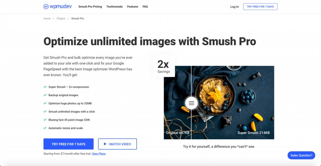 Smush - The Top 10 WordPress Plugins for Your Blog - HostNamaste