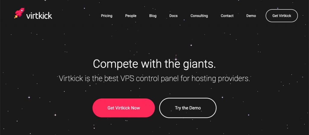 Virtkick - Top 10 Server Virtualization VPS Management Softwares and Control Panels