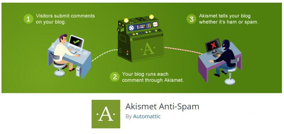 Akismet – The Top 10 WordPress Plugins for Your Blog – HostNamaste