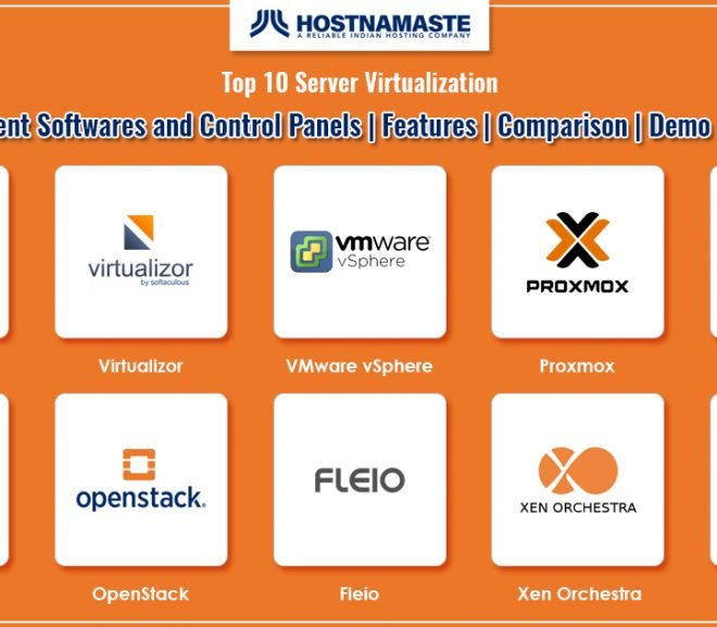 Top 10 Server Virtualization VPS Management Softwares and Control Panels in 2020 | Features | Demo