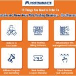 10 Things You Need In Order To Sustain and Grow Your Web Hosting Business - HostNamaste