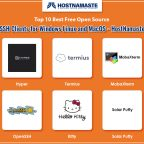 Top 10 Best Free Open Source SSH Clients for Windows Linux and MacOS - HostNamaste