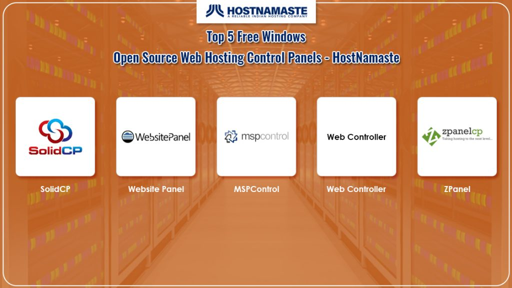Top 5 Free Windows Open Source Web Hosting Control Panels - HostNamaste
