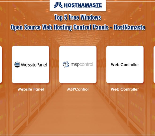 Top 5 Free Windows Open Source Web Hosting Control Panels for 2020