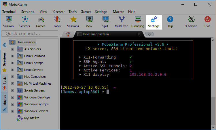MobaXTerm - Top 10 Best Free Open Source SSH Clients for Windows Linux and MacOS - HostNamaste