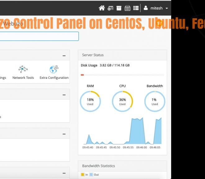 How to Install Webuzo Control Panel on CentOS, Ubuntu and other Linux Distributions – HostNamaste