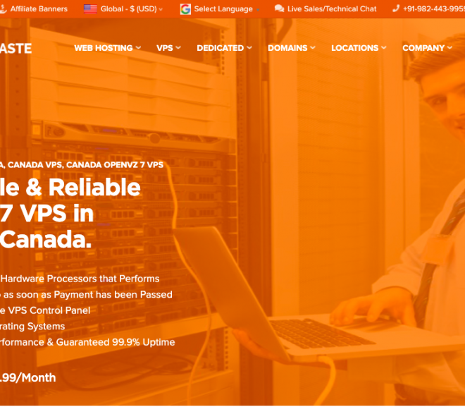 Launching Beauharnois, Quebec, Canada Location OpenVZ 7 VPS – HostNamaste