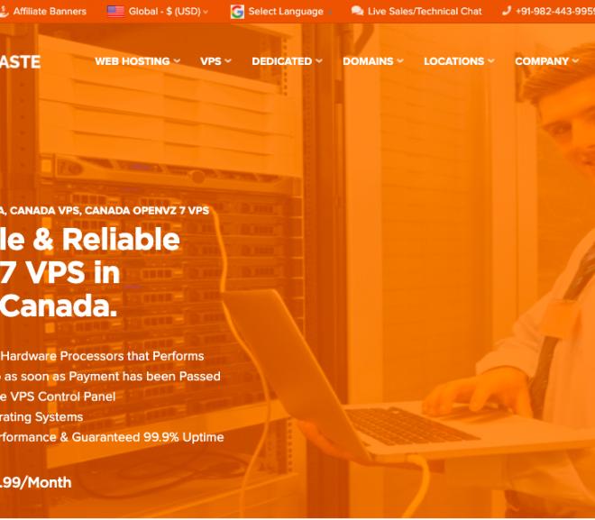 Launching Beauharnois, Quebec, Canada Location OpenVZ 7 VPS – HostNamaste