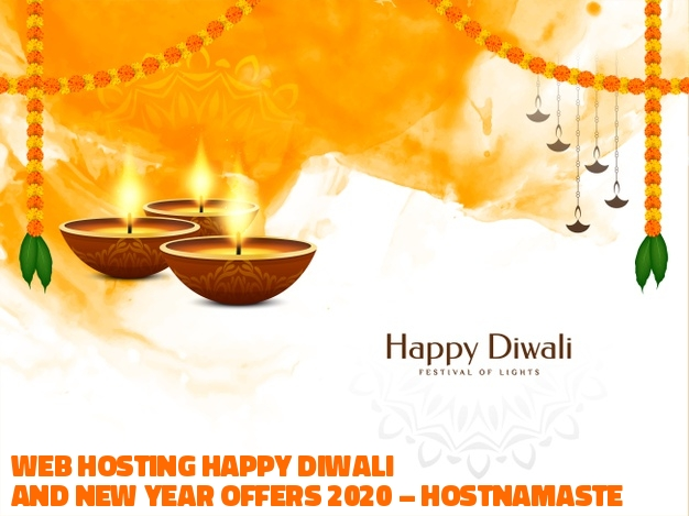 Web Hosting Diwali and New Year Offers 2020 – HostNamaste