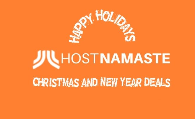 Web Hosting Christmas and New Year Deals/Offers 2020 – 2021 – HostNamaste