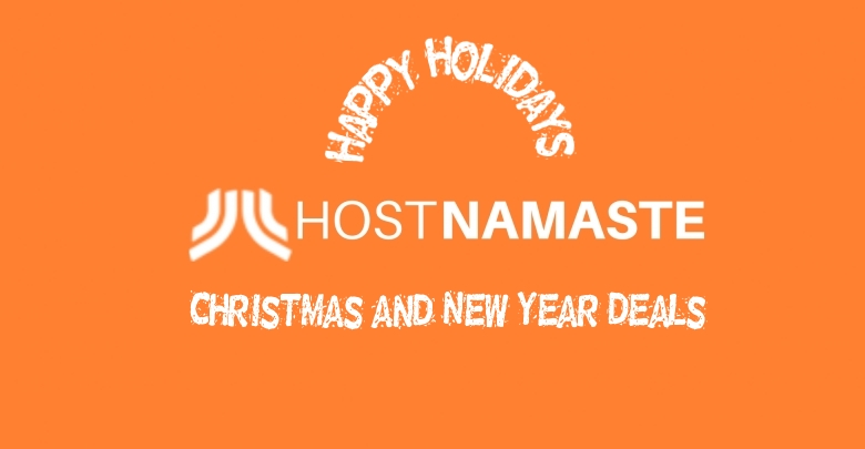 Web Hosting Christmas and New Year Deals/Offers 2020 - 2021 - HostNamaste
