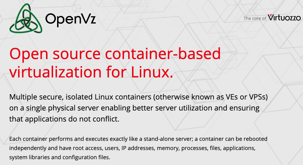 What is OpenVZ Virtualization? - All You Need to Know about the OpenVZ Virtualization - HostNamaste