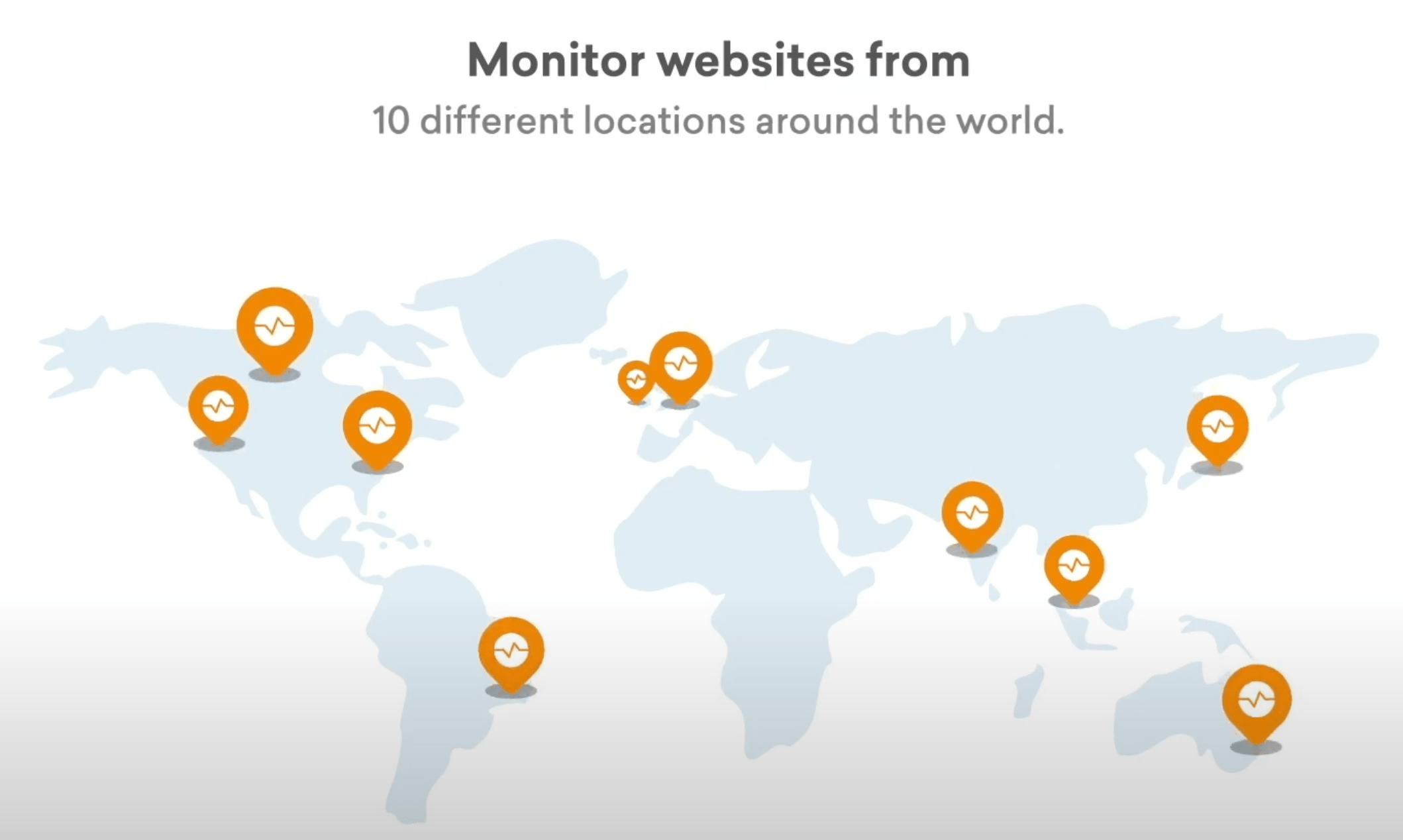 Global Locations - Make sure your Business is up where it matters the most - Freshping - HostNamaste