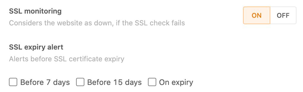 SSL Checks - Make sure your SSL certificate never expires - Freshping - HostNamaste