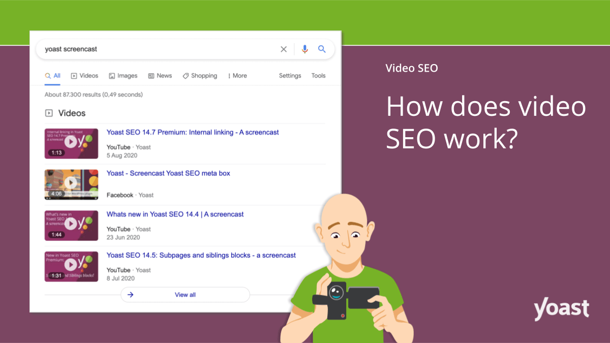 Yoast Video SEO - 5 Video Marketing Tools to Drive Sales to Your WordPress Website in 2021 - HostNamaste