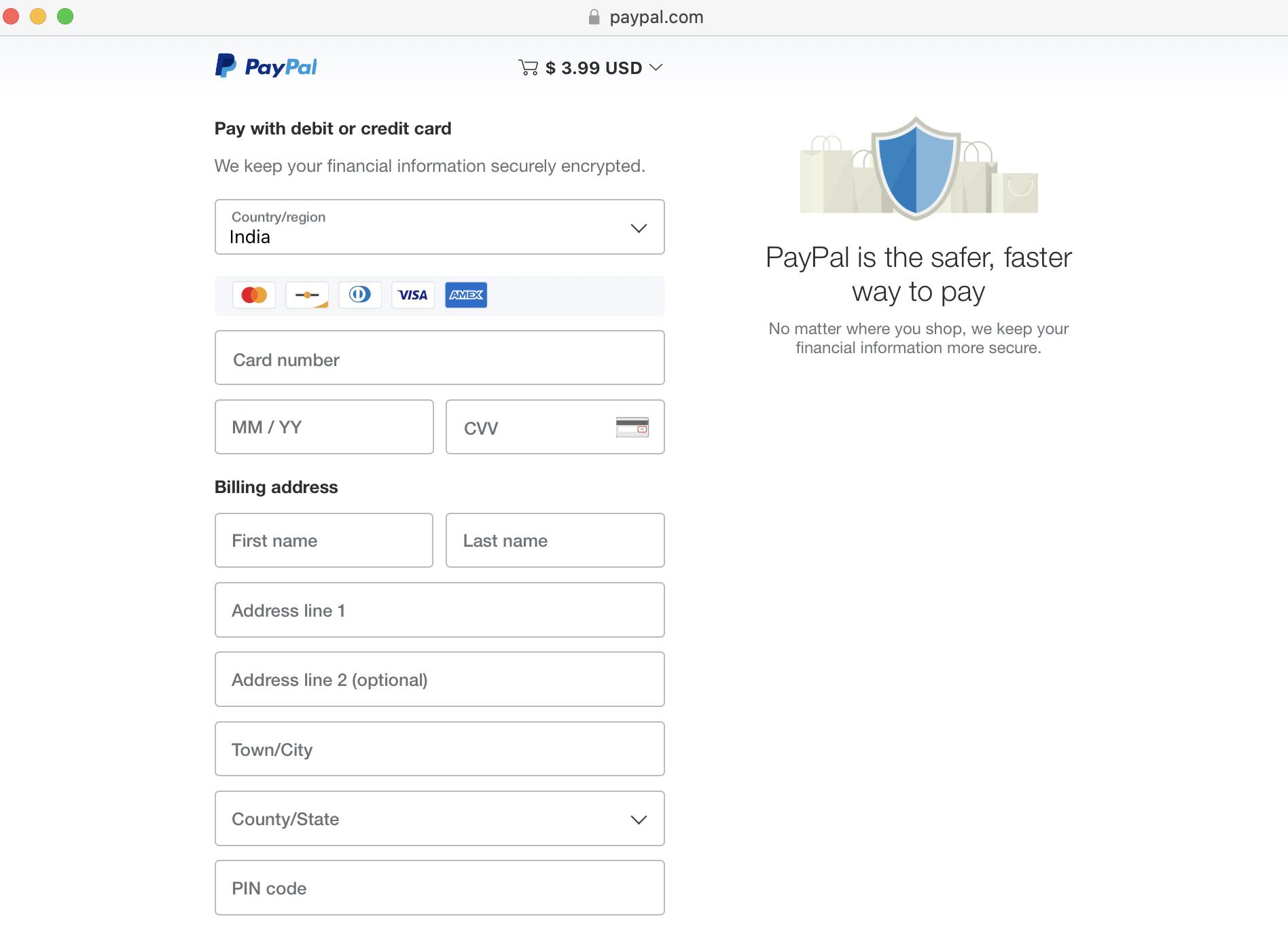 Credit Card Payment Acceptance via PayPal using 2CheckOut - HostNamaste