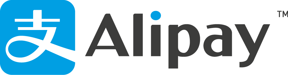 Alipay cards logo hostnamaste