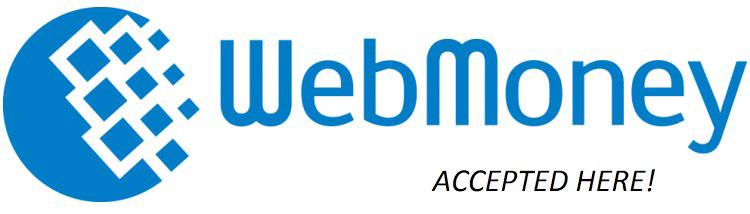 Webmoney cards logo hostnamaste
