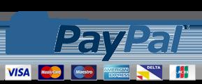 paypal cards logo hostnamaste